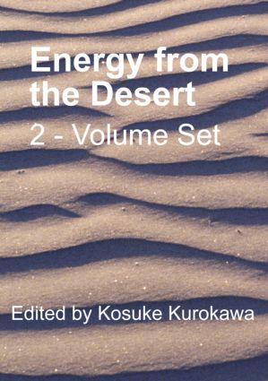 Energy from the Desert - 2 Volume Set: 1st Edition (Hardback) book cover