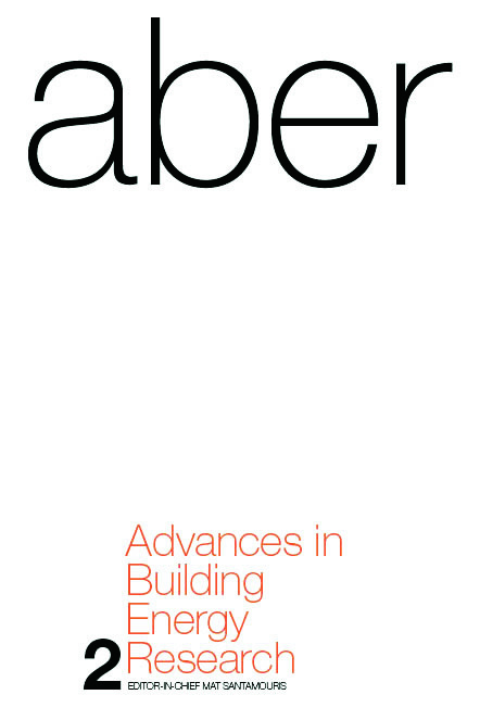 Advances in Building Energy Research: Volume 2, 1st Edition (Hardback) book cover