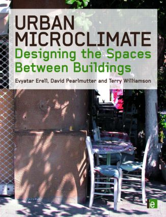 Urban Microclimate: Designing the Spaces Between Buildings (Hardback) book cover