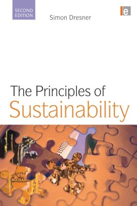 The Principles of Sustainability book cover
