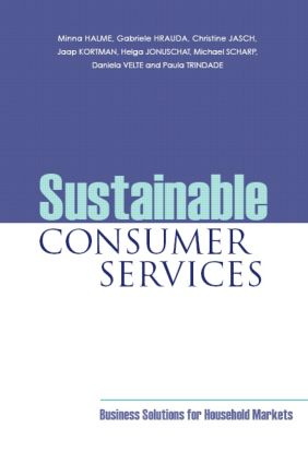 Sustainable Consumer Services: Business Solutions for Household Markets, 1st Edition (Paperback) book cover