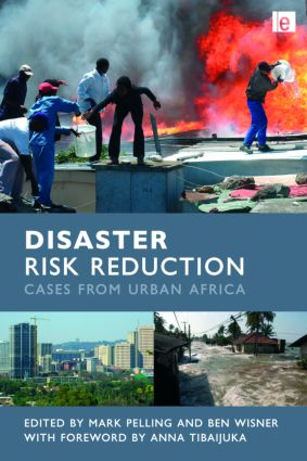 Disaster Risk Reduction: Cases from Urban Africa (Hardback) book cover