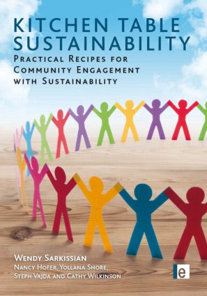 Kitchen Table Sustainability: Practical Recipes for Community Engagement with Sustainability (Paperback) book cover
