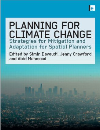 Planning for Climate Change: Strategies for Mitigation and Adaptation for Spatial Planners (Hardback) book cover