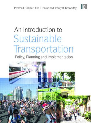 An Introduction to Sustainable Transportation: Policy, Planning and Implementation (Paperback) book cover