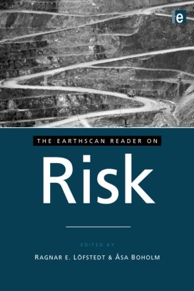 The Earthscan Reader on Risk book cover
