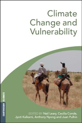 Climate Change and Vulnerability: 1st Edition (Paperback) book cover