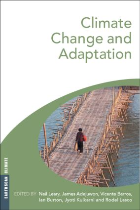 Climate Change and Adaptation (Paperback) book cover