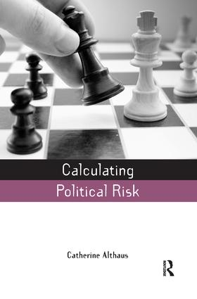 Calculating Political Risk (Paperback) book cover