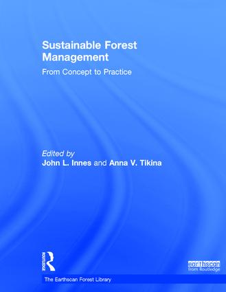 Sustainable Forest Management: From Concept to Practice book cover
