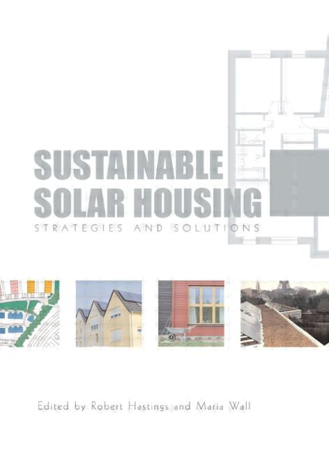Sustainable Solar Housing: Two Volume Set (Paperback) book cover