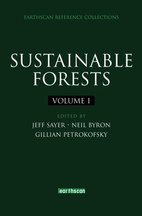 Sustainable Forests (Hardback) book cover