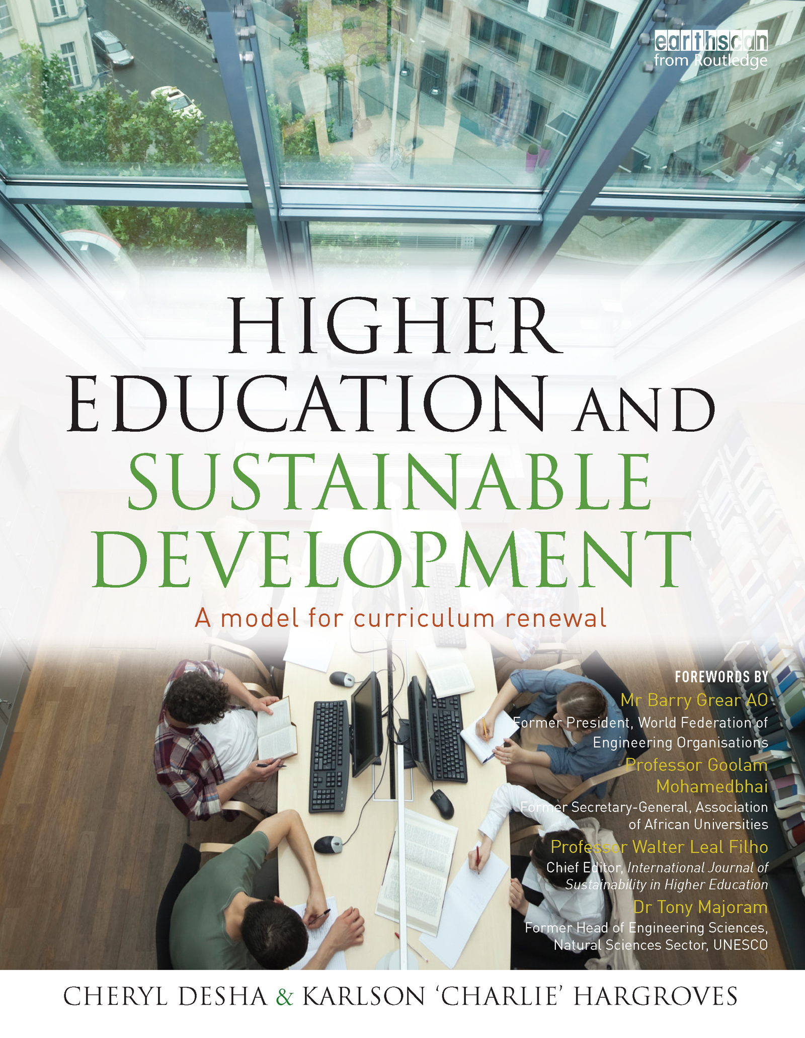 Higher Education and Sustainable Development: A model for curriculum renewal (Paperback) book cover