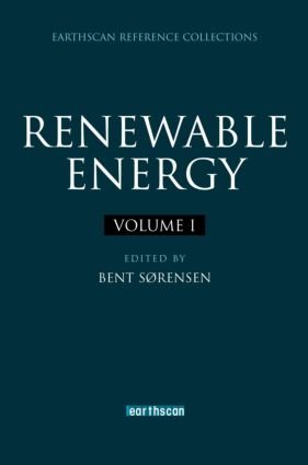 Renewable Energy: Four Volume Set (Hardback) book cover