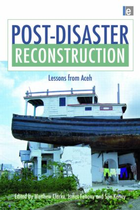 Post-Disaster Reconstruction: Lessons from Aceh (Hardback) book cover