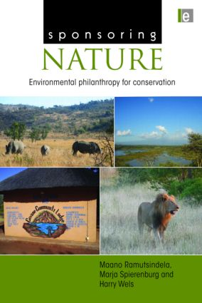 Sponsoring Nature: Environmental Philanthropy for Conservation (Hardback) book cover