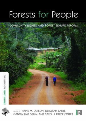 Forests for People: Community Rights and Forest Tenure Reform (Paperback) book cover