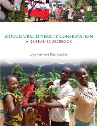 Biocultural Diversity Conservation: A Global Sourcebook (Paperback) book cover