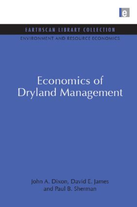 Economics of Dryland Management: 1st Edition (Paperback) book cover
