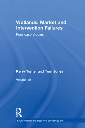 Wetlands: Market and Intervention Failures: Four case studies (Hardback) book cover