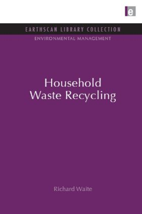 Household Waste Recycling (Hardback) book cover