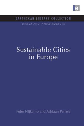Sustainable Cities in Europe book cover