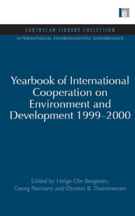 Yearbook of International Cooperation on Environment and Development 1999-2000 (Hardback) book cover