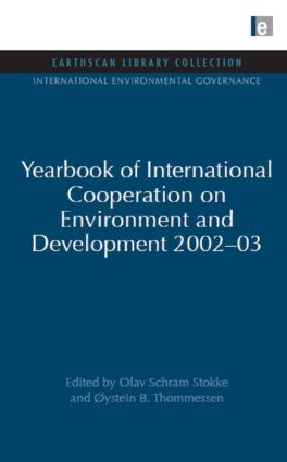 Yearbook of International Cooperation on Environment and Development 2002-03 (Hardback) book cover