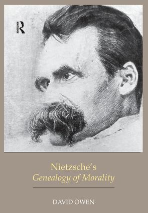 Nietzsche's Genealogy of Morality: 1st Edition (e-Book) book cover