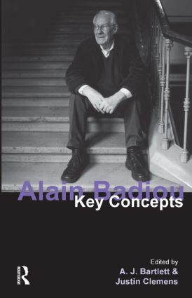 Alain Badiou: Key Concepts book cover