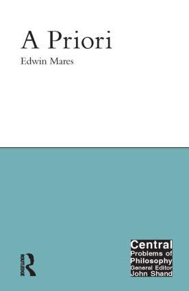 A Priori book cover