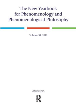 The New Yearbook for Phenomenology and Phenomenological Philosophy: Volume 11, 1st Edition (Paperback) book cover