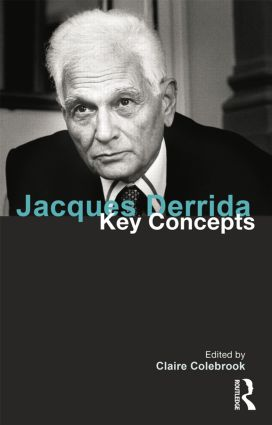 Jacques Derrida: Key Concepts (Paperback) book cover
