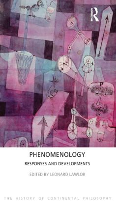 Phenomenology: Responses and Developments book cover