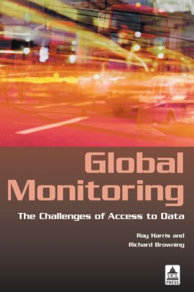 Global Monitoring: The Challenges of Access to Data (Paperback) book cover