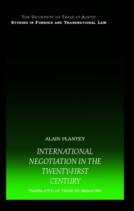 International Negotiation in the Twenty-First Century book cover