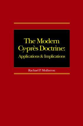 The Modern Cy-près Doctrine