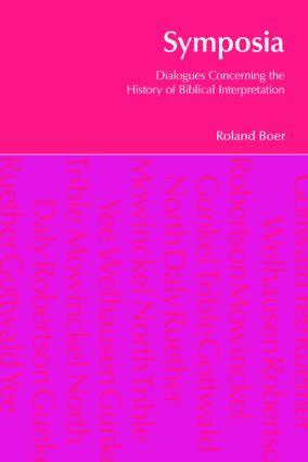 Symposia: Dialogues Concerning the History of Biblical Interpretation book cover