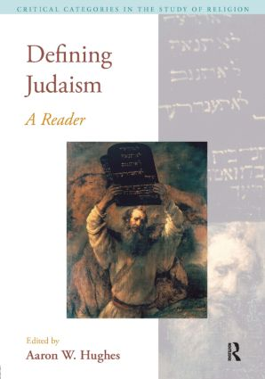 Defining Judaism: A Reader, 1st Edition (Paperback) book cover