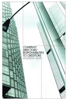 Company Directors' Responsibilities to Creditors