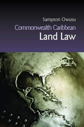 Commonwealth Caribbean Land Law (Paperback) book cover