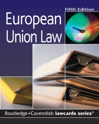 Cavendish: European Union Lawcards book cover