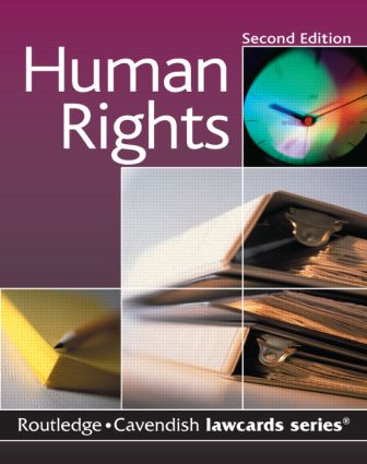 Cavendish: Human Rights Lawcard book cover