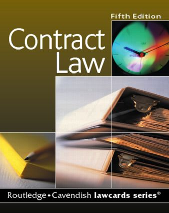 Cavendish: Contract Lawcards book cover