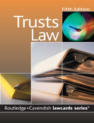 Cavendish: Trusts Lawcards book cover