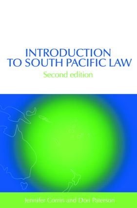 Introduction to South Pacific Law book cover
