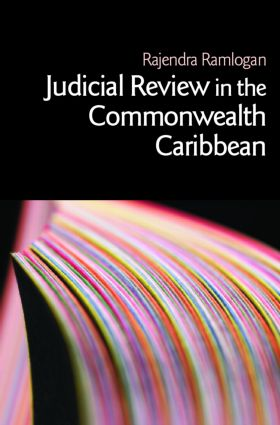 Judicial Review in the Commonwealth Caribbean (Paperback) book cover