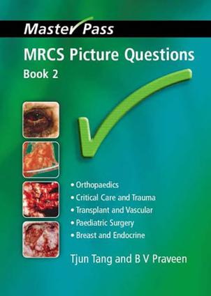 MRCS Picture Questions: A Practical Guide, v. 3, 1st Edition (Paperback) book cover
