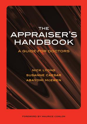 The Appraiser's Handbook: v. 5, Substance Abuse, Palliative Care, Musculoskeletal Conditions, Prescribing Practice, 1st Edition (Paperback) book cover