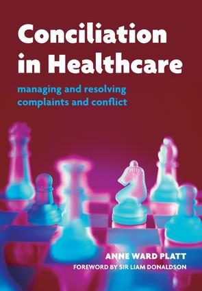 Conciliation in Healthcare: v. 2, Care and Practice book cover